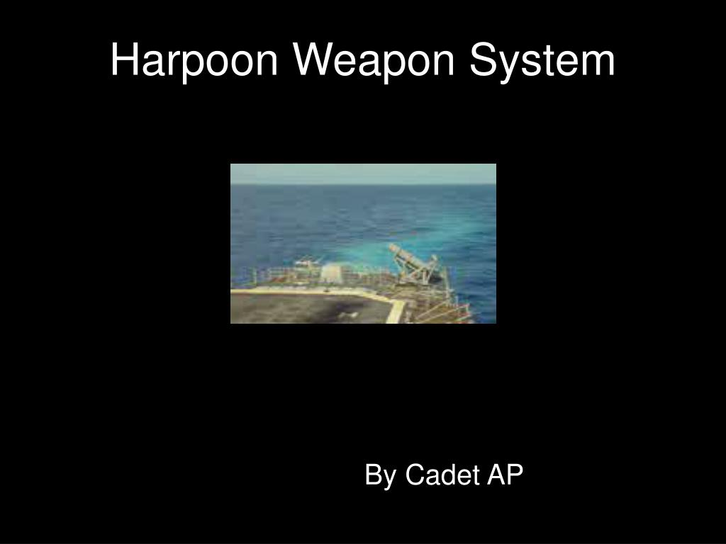 harpoon weapon system l.