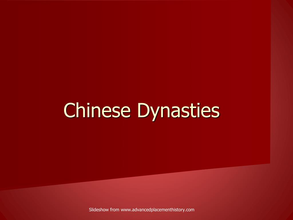 chinese dynasties l.