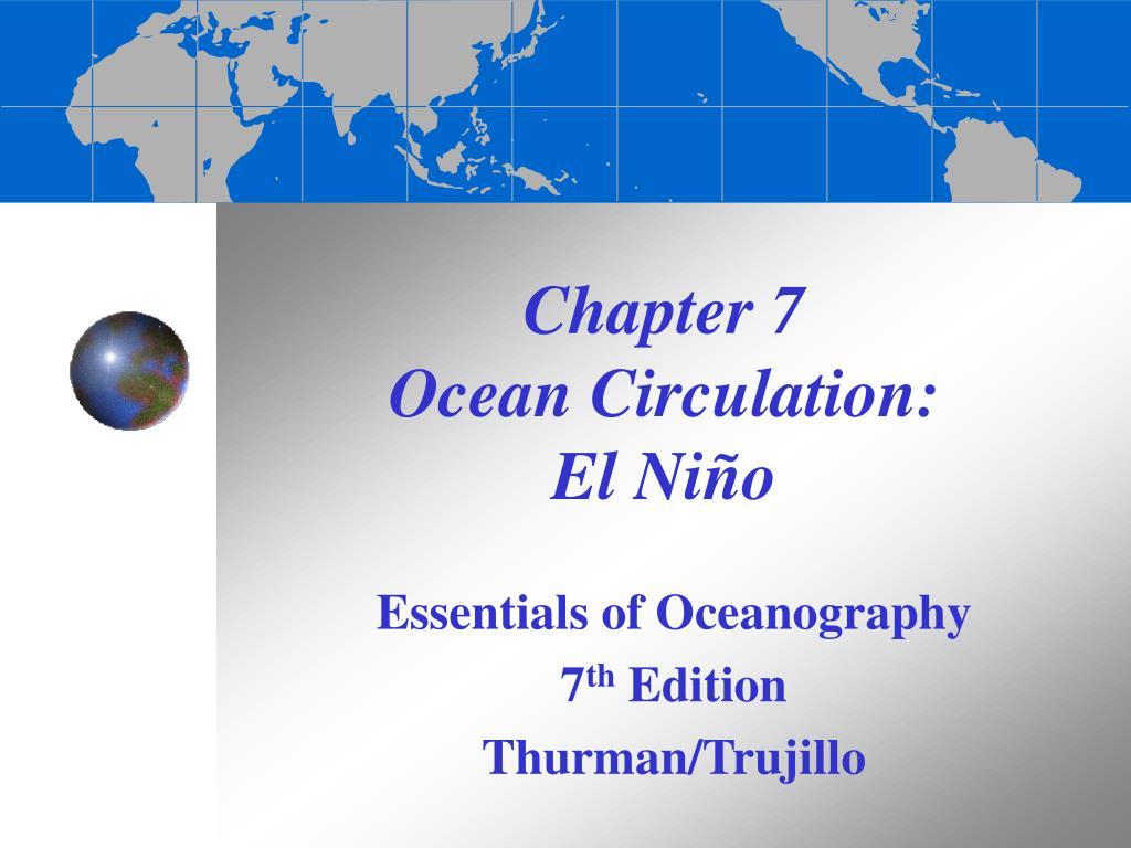 chapter 7 ocean circulation el ni o l.
