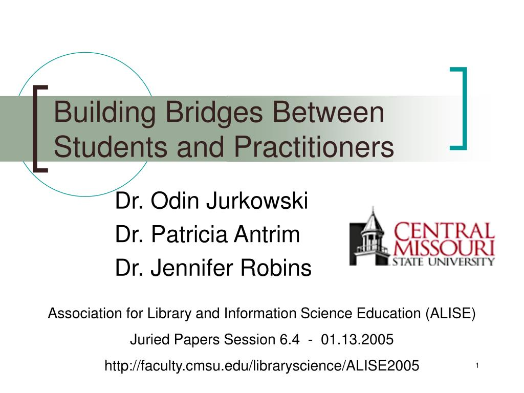 Building Bridges Between Students and Practitioners