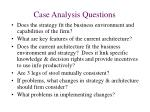 case analysis questions
