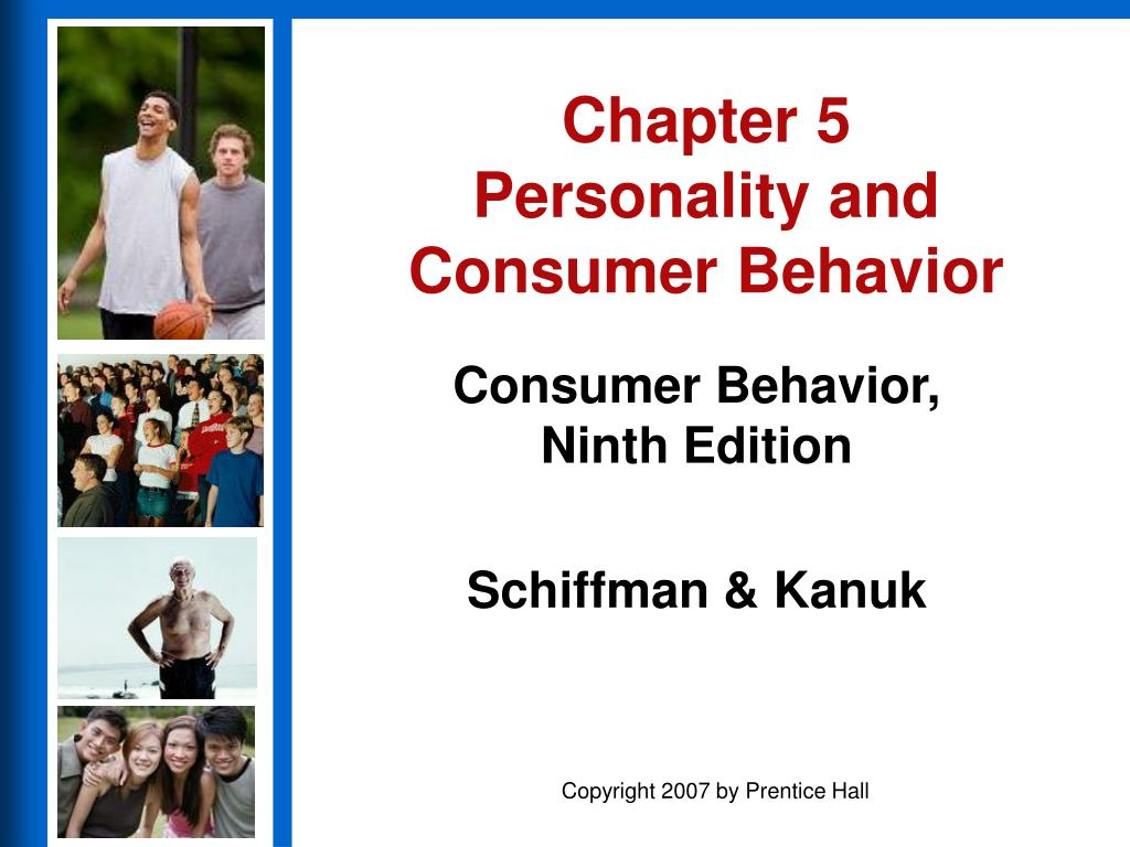 chapter 5 personality and consumer behavior l.