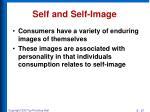 self and self image