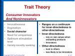 trait theory14