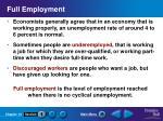 full employment