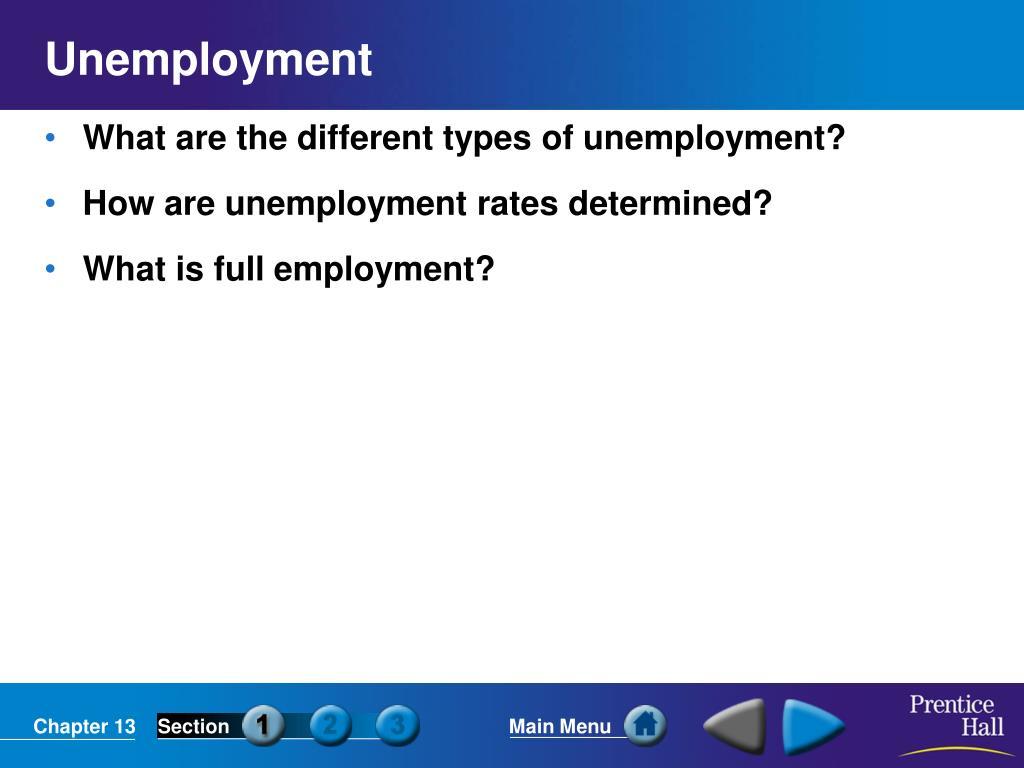 unemployment l.