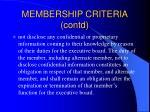 membership criteria contd15