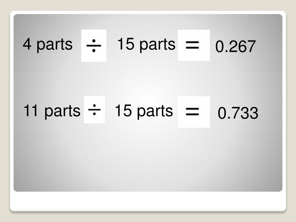 4 parts