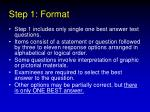 step 1 format22