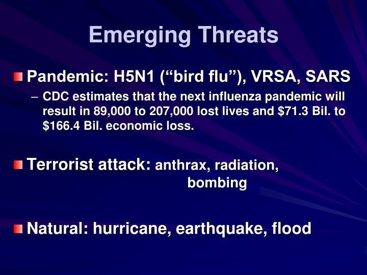 Emerging threats