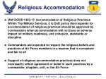 religious accommodation