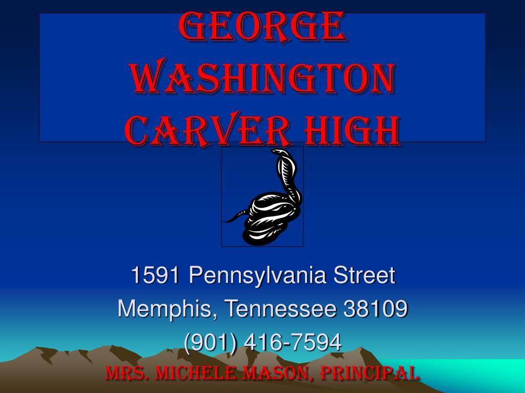 george washington carver high l.
