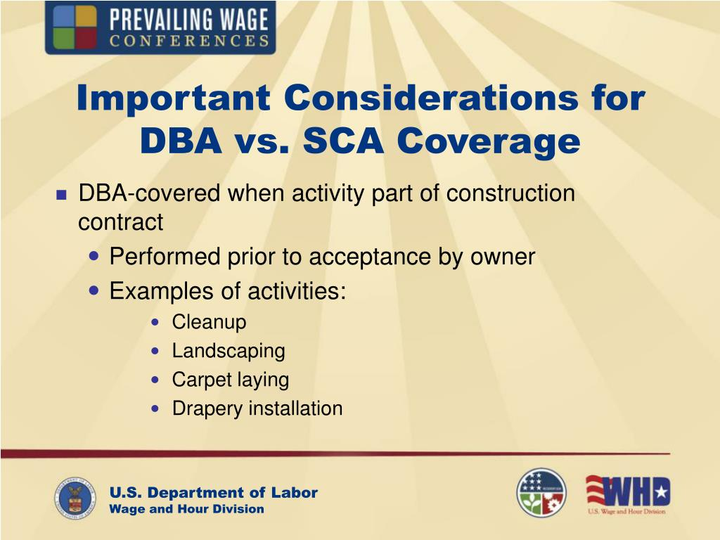 Important Considerations for