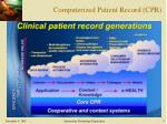 computerized patient record cpr