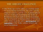 the shramic challenge
