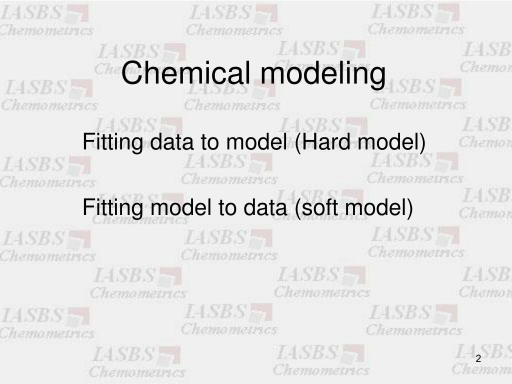 Chemical modeling