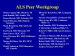 als peer workgroup