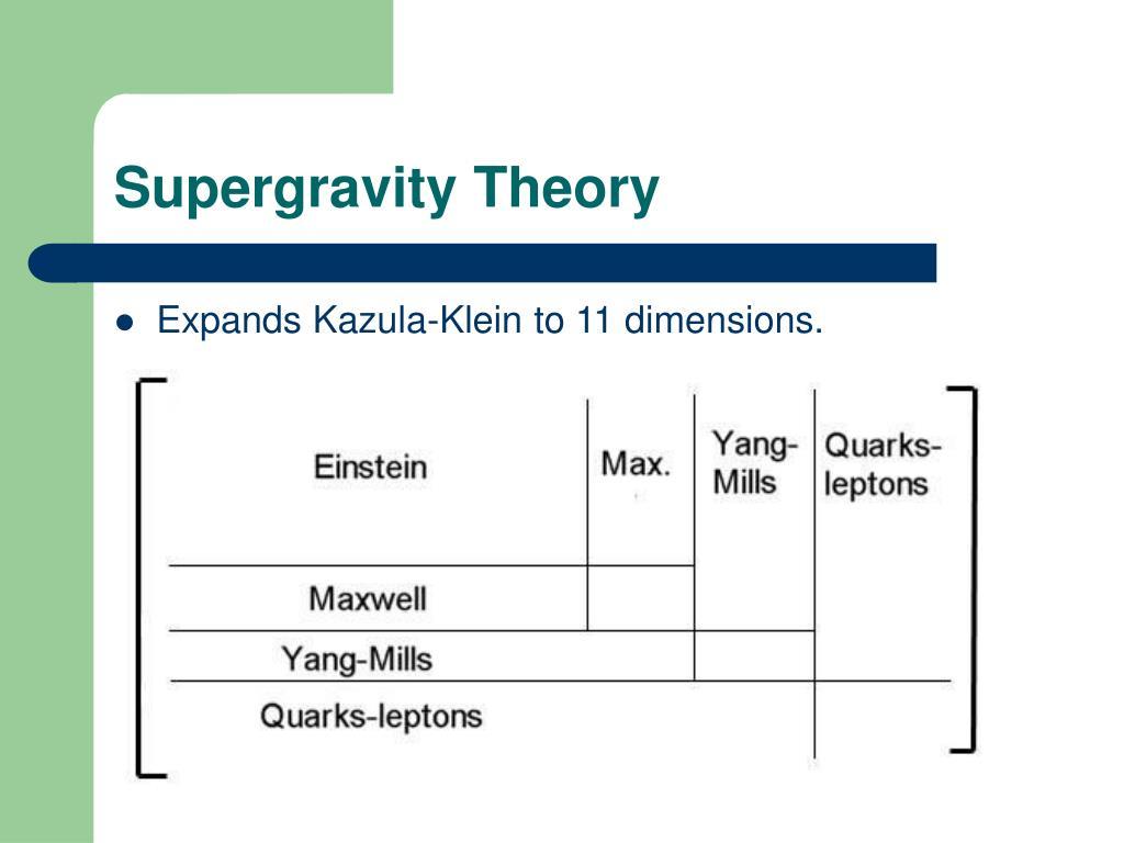 Supergravity Theory