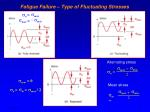 fatigue failure type of fluctuating stresses