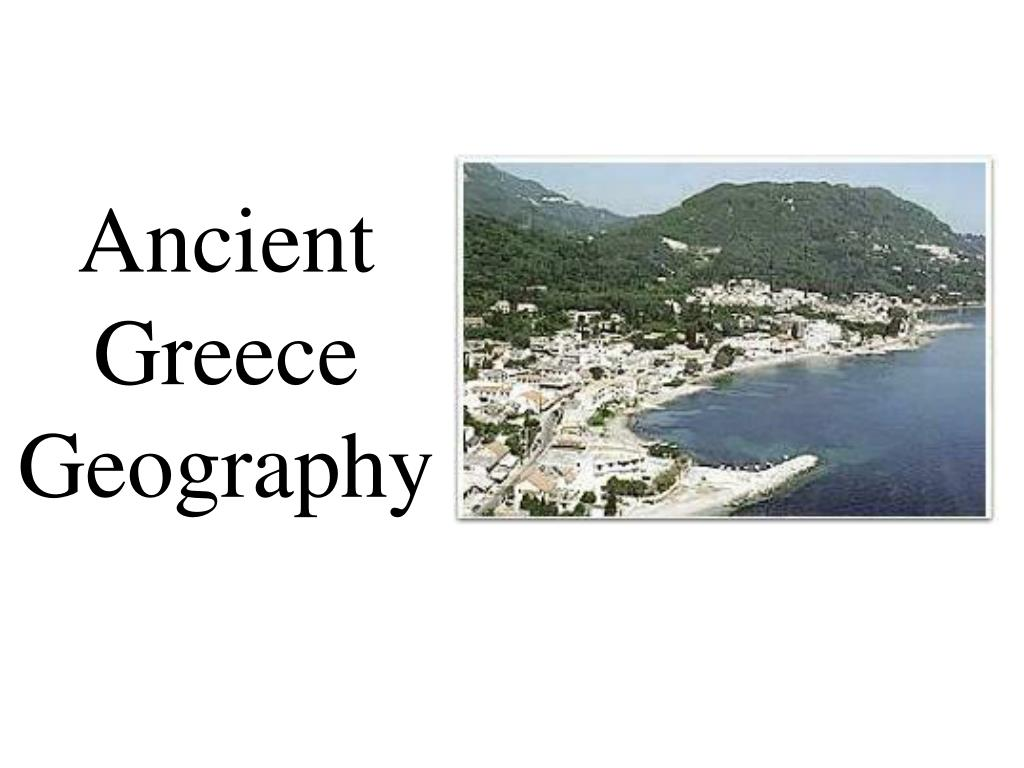 ancient greece geography l.
