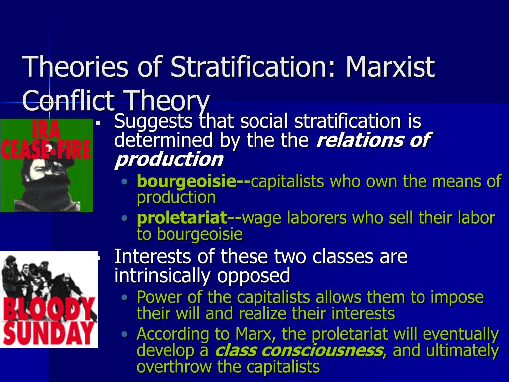 class conciousness and marx