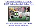 click here to watch 2011 2012 ncaa college football online free