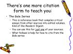 there s one more citation form to teach you