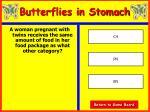 butterflies in stomach