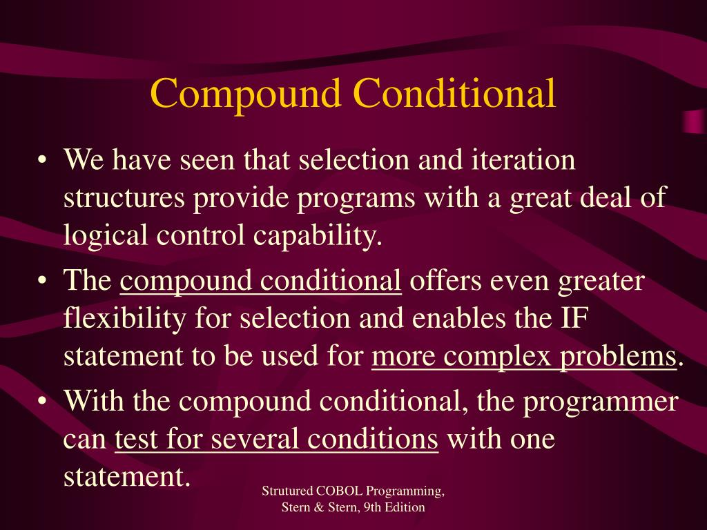 Compound Conditional