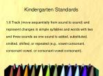 kindergarten standards22