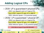 adding logical cps30