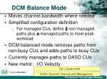dcm balance mode