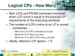 logical cps how many