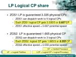 lp logical cp share26