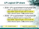 lp logical cp share71