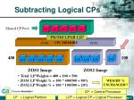 subtracting logical cps