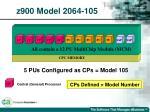 z900 model 2064 10566