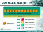 z900 models 2064 101 109