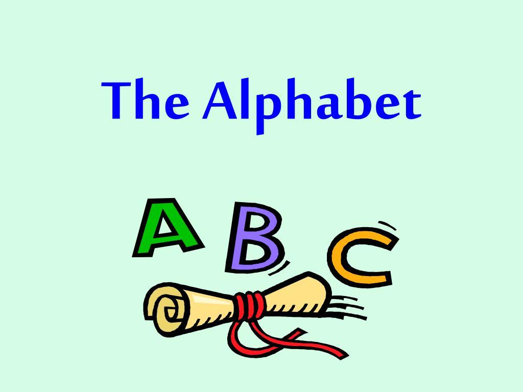 the alphabet l.