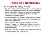 texas as a democracy13