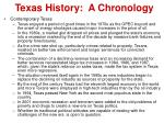 texas history a chronology11
