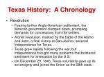 texas history a chronology4