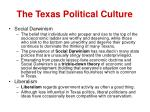 the texas political culture19