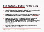 din deutsches institut f r normung
