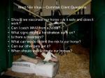 west nile virus common client questions