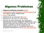 algunos problemas