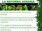 la reforma agraria31