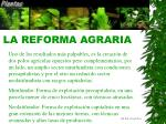 la reforma agraria33