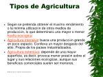 tipos de agricultura15