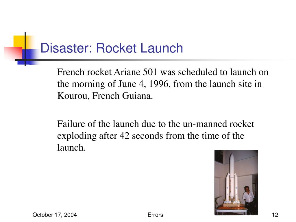 Disaster: Rocket Launch